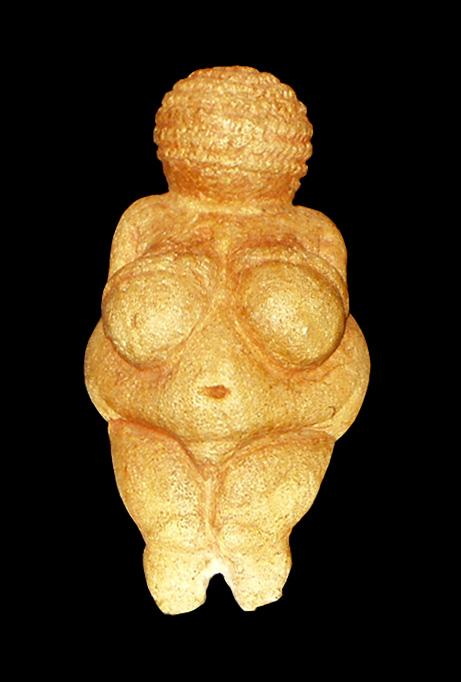 Vénus de Willendorf, a mais famosa estátua paleolítica